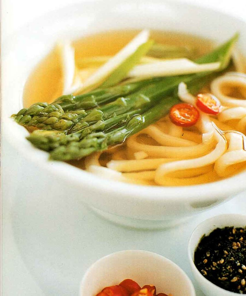 Udon Noodles in Miso Broth Recipe-calories-nutrition facts-asian cuisine soup