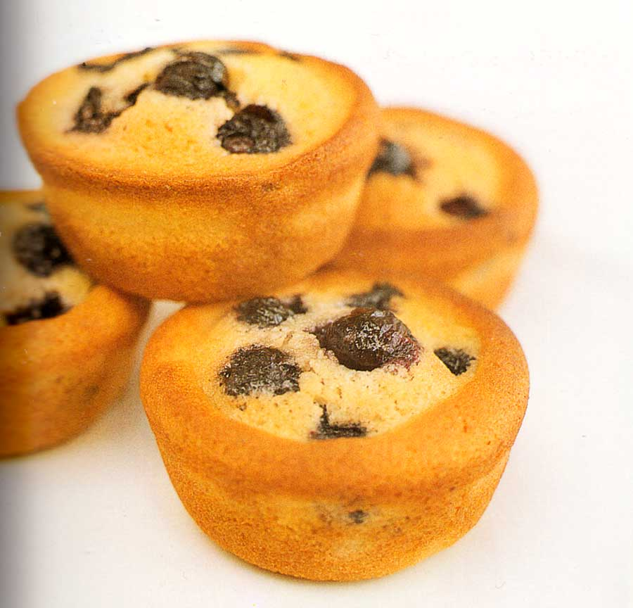 Blueberry and Lemon Friands Recipe-calories-nutrition facts-muffin recipes