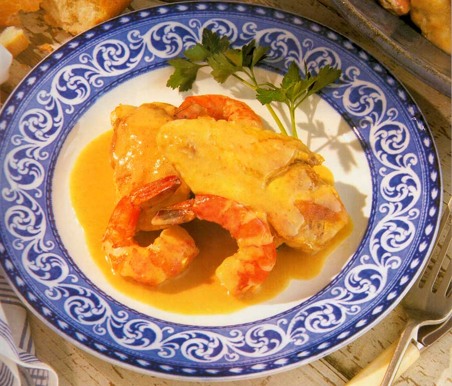 Chicken with Prawns Recipe calories-Poulet aux Crevettes-nutrition facts-fried chicken recipe