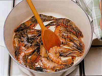 Chicken-with-Prawns-Recipe-calories-Poulet-aux-Crevettes-step by step