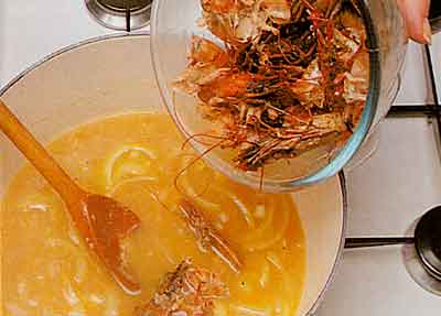 Chicken-with-Prawns-Recipe-calories-step-by-step-with-photo- chicken and prawns