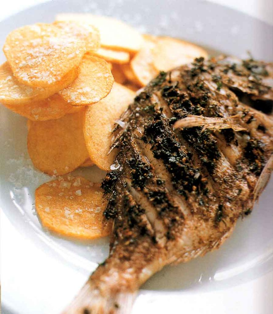 Fish Recipe Crisp, Spiced Snapper-calories-nutrition facts-diet-low fat-seafood recipes
