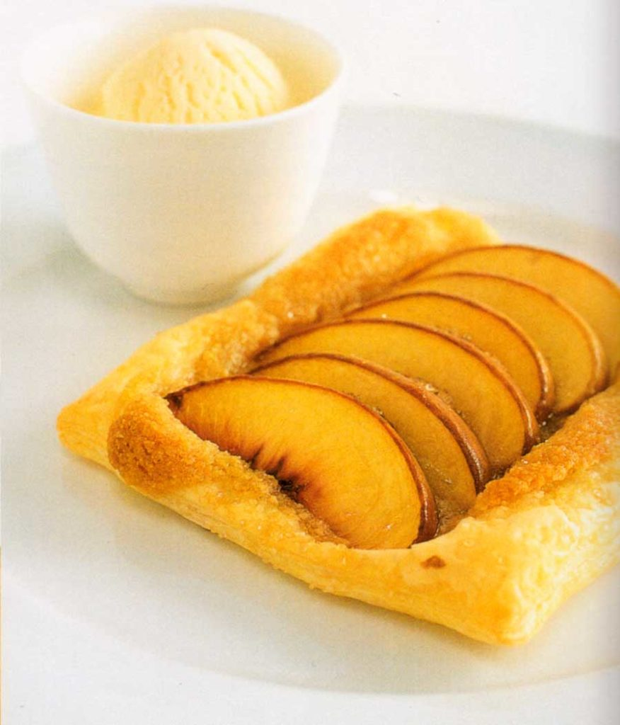 Fruit Dessert-Almond Peach Galette Recipe-calories-nutrition facts-low fat