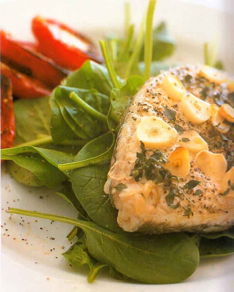 Garlic-baked-Blue-Eye-Cod-Recipe-calories-nutiriton-facts-easy-seafood-recipes