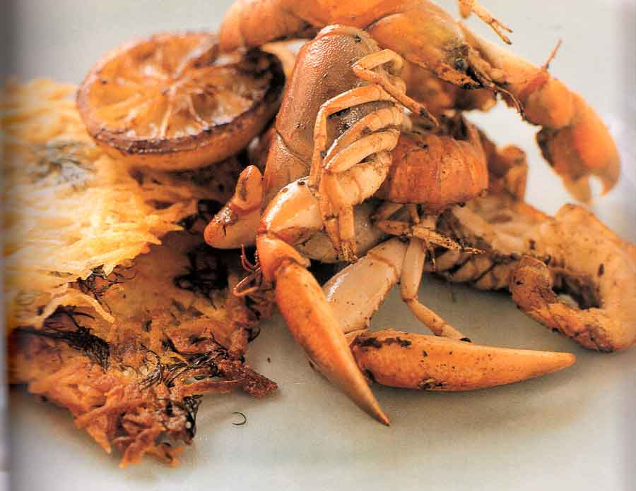 Lemon-fried-Yabbies-with-Dill-and-Potato-Cakes-Recipe-calories-nutrition-fact