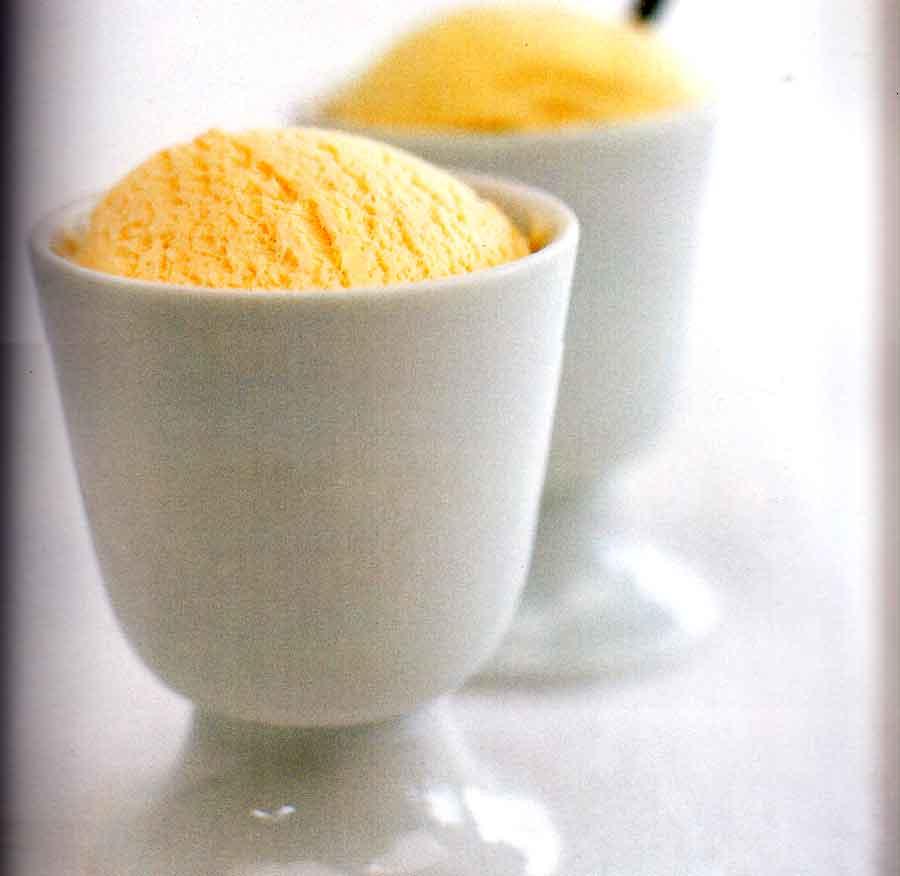 Nectarine Ice Cream Recipe-dessert-recipematic