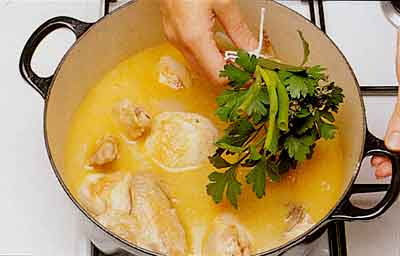Old-fashioned-Chicken-Fricassee-Fricassee-de-Poulet-step-by-step-with-photo-4