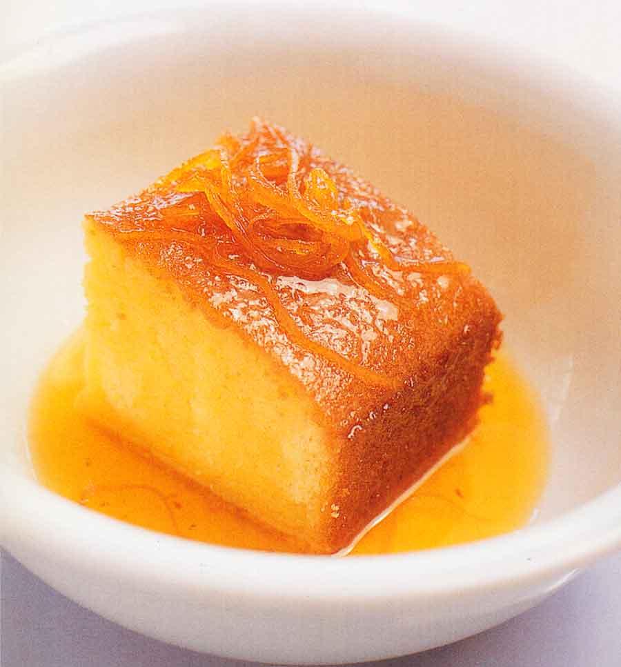 Orange Semolina Cake Recipe-calories-nutrition facts-easy cake recipes
