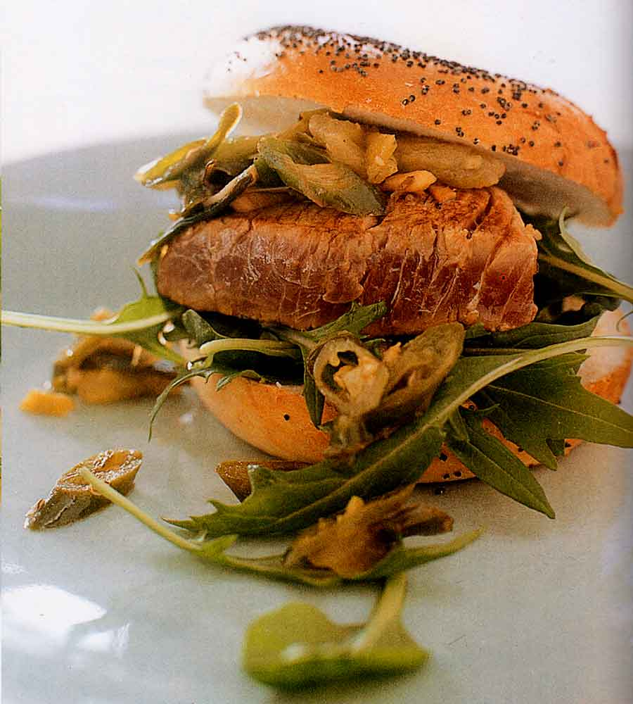Seared Tuna Burgers with Fried Chilli Salsa Recipe-calories-nutrition facts