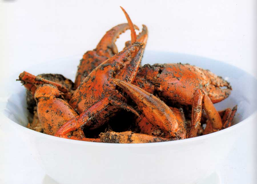 Wok-fried Salted Chilli Crab Recipe-calories-nutrition facts-seafood recipes