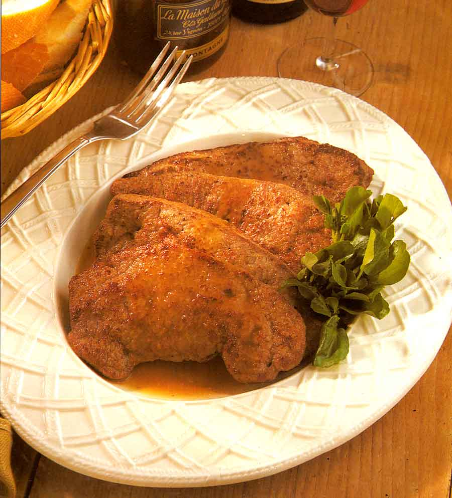 Calves Liver with Honey Recipe-calories-Foie de Veau au Miel-nutrition facts-easy french style recipes