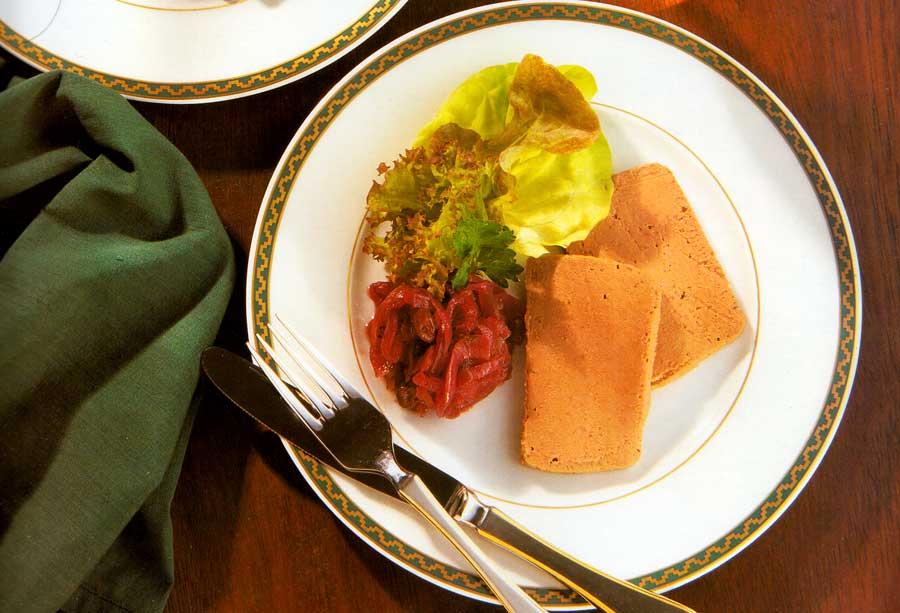 Chicken Liver Mousse Recipe-calories-Mousse de Foie de Volaille-nutrition facts-easy french poultry recipes