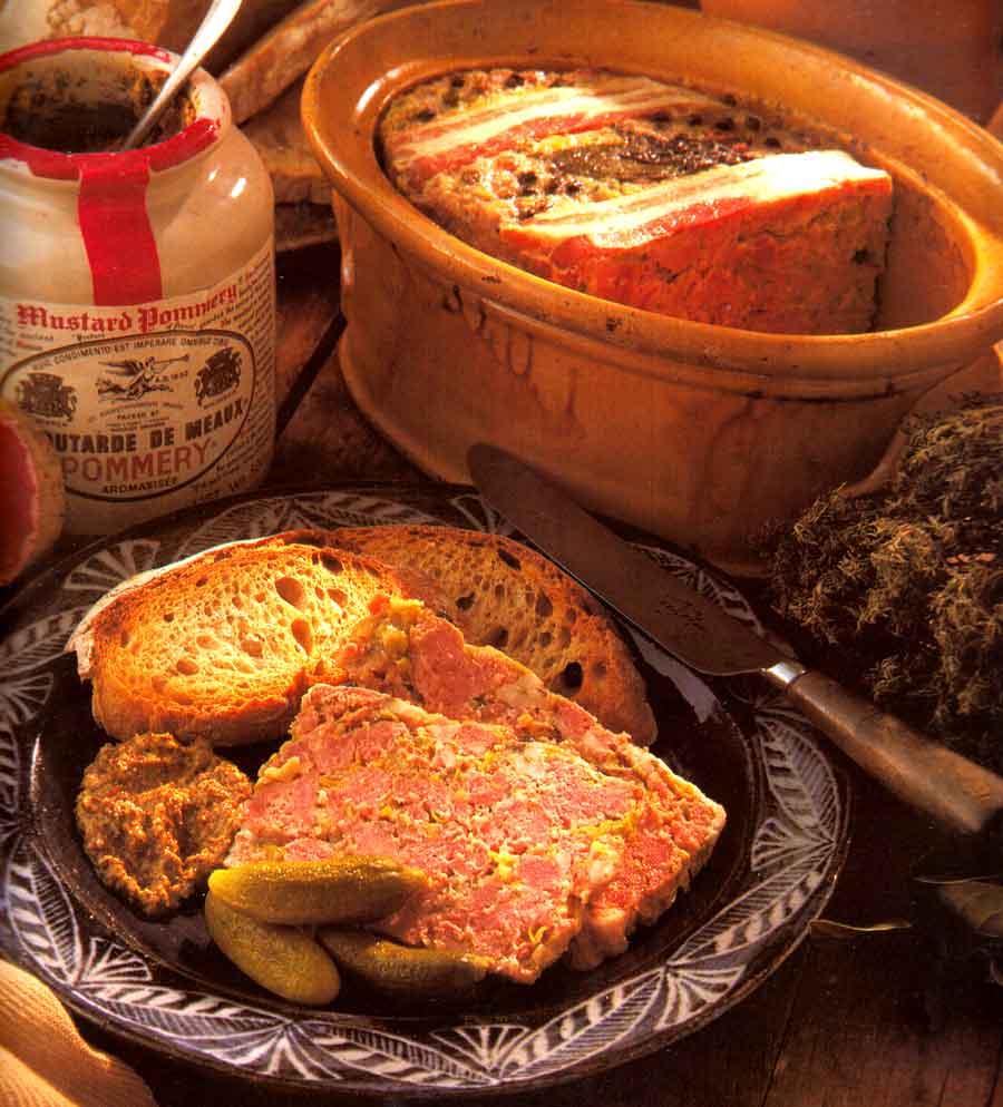 Country-style Pate with Leeks-calories-Pate de Pore aux Poireaux-best french cuisine food