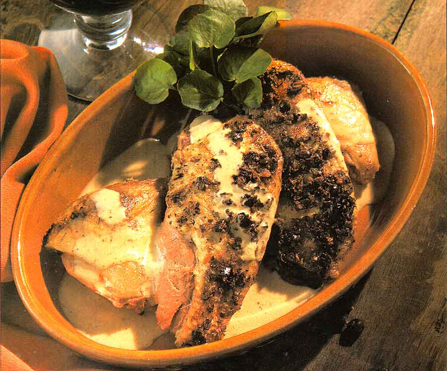 Roast wild Duck with Juniper Recipe-calories-Canard aux Genievres-nutrition facts-easy french cuisine recipes