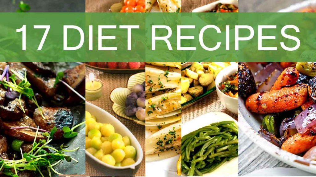 17 Easy-Delicious and Healthy Diet Recipes With Vegetables-diet food-low fat-low carb-nutrition facts-homemade