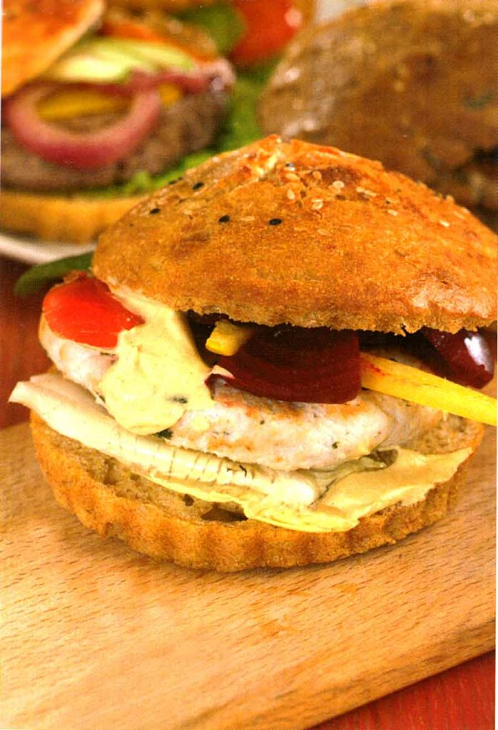 Easy Beef Burger Recipe-With Chicken Variation-homemade-calories and nutrition facts