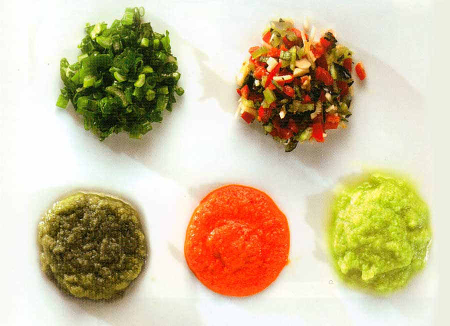 Easy Salsa Sauce Recipes-Marinades-Salad Dressings and Dips-Peruvian Madre-Basic Adobo Sauce-Salsa Criolla