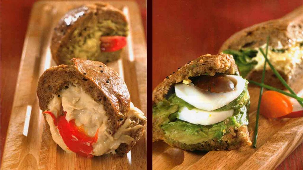 Avocado-Egg and Fish Sandwiches-Burger Recipes
