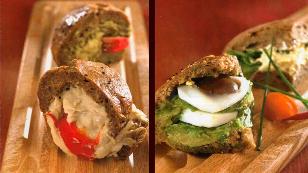 Avocado-Egg and Fish Sandwiches-Burger Recipes