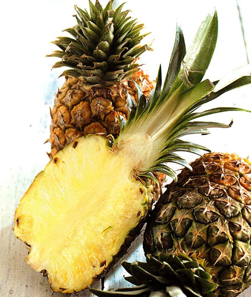 How to Store-Choose-How to Use Pineapple-Benefits of Pineapple-Calories and Nutrition Facts-tips-step by step with photo