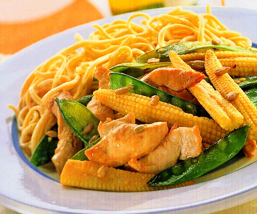 Chicken & Corn Saute Recipe | Popular Dishes of Chinese Cuisine (how many calories)