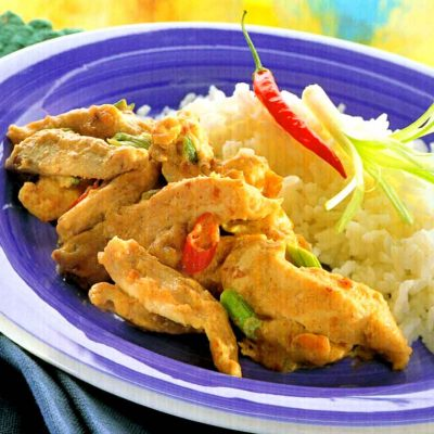 Chile Coconut Chicken-Chinese Cuisine Recipes-Calorie and Nutrition Facts-easy-homemade-recipematic