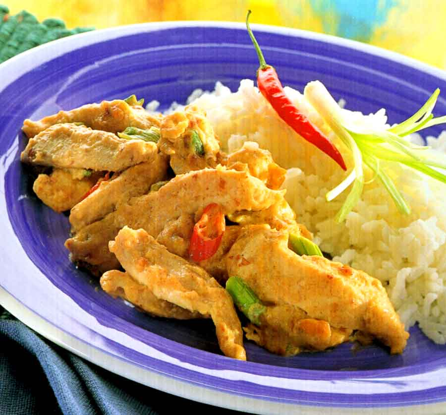 Chile Coconut Chicken | Chinese Cuisine Recipes (Calorie and Nutrition Facts)