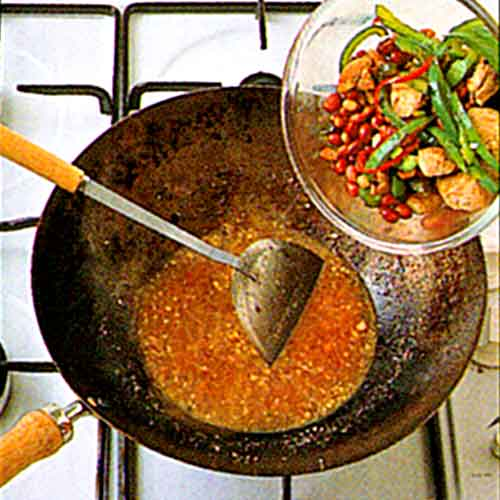 Spicy Peanut Chicken Recipe-Chinese Style Chicken-with-photo-and-video