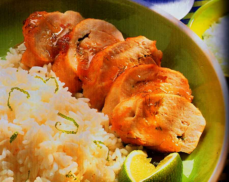 Chinese Recipes: Garlic & Lime Chicken Recipe (how many calories)