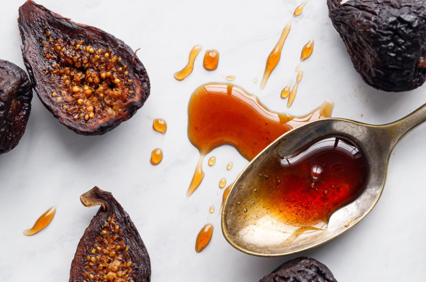 Dried fig syrup
